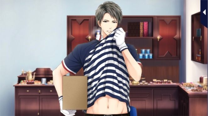 Sosuke delivering a package.
