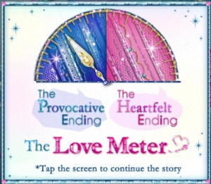 The Love Meter shows the Provocative Ending